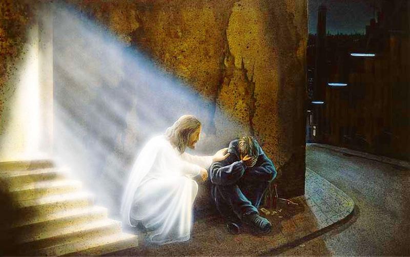 Задуши своего христа послушными руками